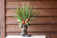 Handmade WESTERN FLORAL flower ARRANGEMENT