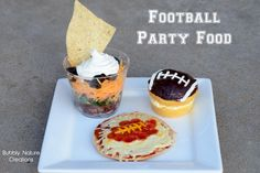 football party food - with recipes!