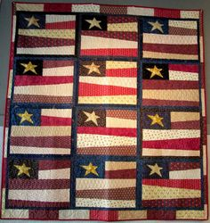 Free pattern...(maybe for the Patriotic block exchange?)