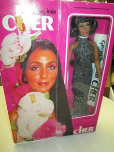 Cher Growing Hair ~ 1976 ~ by Mego  ~ Fashion Doll  #Mego