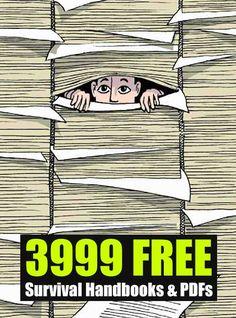 3999 FREE Survival Handbooks & PDFs - SHTF, Emergency Preparedness, Survival Prepping, Homesteading