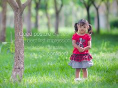 Good #posture creates the best first #impression because it shows that you are #confident.