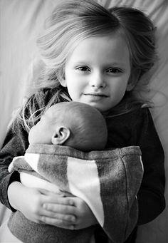 sweet sibling shot