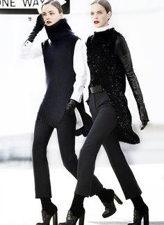 Céline Fall 2010 in Vogue