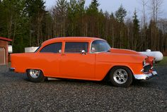 1955 Chevy Hot Rod