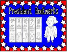 President Bookmarks Cover