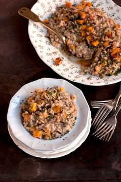 Farro Risotto Recipe - Saveur.com