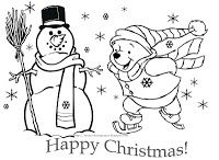 HERE IS TIGGER FROM WINNIE THE POOH IN A VERY CUTE COLORING PAGE - TO PRINT THIS BLACK AND WHITE DISNEY CHRISTMAS COLORING PAGE  - winnie the pooh - JUST CLICK ON IT AND IT WILL OPEN NICE AND BIG - THEN PRINT HOWEVER MANY COPIES YOU NEED. MAYBE YOU'RE JUST PRINTING ONE FOR YOUR CHILD...BUT YOU COULD ALSO PRINT ONE FOR HIS FRIENDS - WHY NOT PRINT A FEW DISNEY COLORING PAGES FROM THIS SITE AND THEN COLLATE THEM (STAPLE THEM TOGETHER) TO CREATE A PERSONALISED COLORING BOOK FOR SOMEONE?