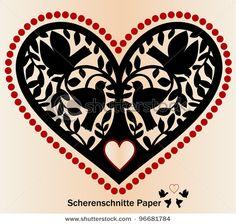 papel picado heart