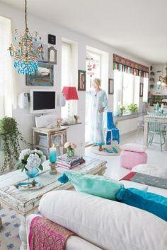 Bohemian Livingroom by delia