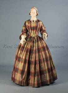 """Day after the wedding"" dress, ca. 1854"