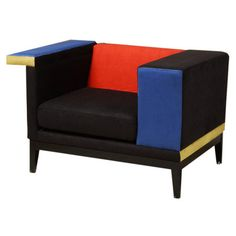 I pinned this Armen Living Aero Club Chair from the Style Study: De Stijl event at Joss and Main!