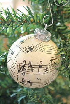 music sheet ornament