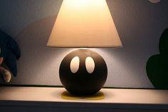 Super Mario Bob-omb lamp