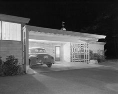 Brenner House, Harry Weese, Champaigne, 1952