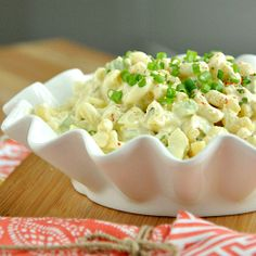 Quick and Easy Macaroni Salad - a perfect side dish for your summer barbeque!