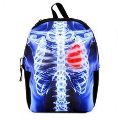 rib cage, backpacks, ribs, stuff, bag, bone, xray ribcag, ribcag backpack, gift idea