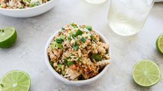 Thai Chicken Quinoa Bowl Recipe - Made this last week, couldn't stop eating it!!!!!!!
