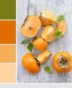 green to orange