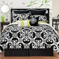 Kennedy Reversible 8-piece Comforter Set