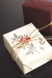 Japanese diy wrapping gift - simple and elegant
