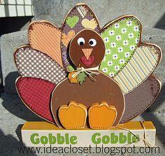 wood turkey
