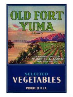 Vintage photos of Yuma Arizona