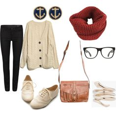 i need to find me a baggy sweater to complete this cute hipster outfit