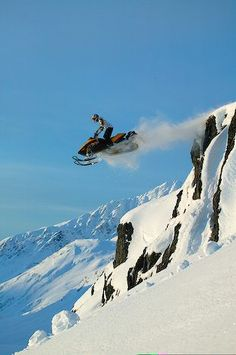 Back country snowmobiling