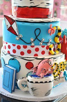 pretti cakescupcak, birthday parties, food, cake pops, seuss birthday