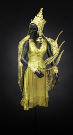 "Costume from ""Le Dieu Bleu"" (1912), designed by Leon Bakst."