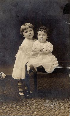 babies of long ago by the enchanted pumpkin, via Flickr