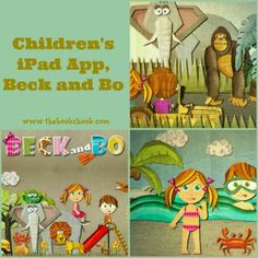 The Book Chook: Children's iPad App and Giveaway, Beck and Bo