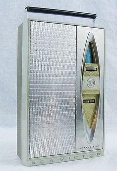 Vintage RCA 4RG56 AM 8 Transistor Radio by PittsburghClockshop, $15.00
