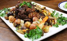 Porcini and Pinot Noir Pot Roast ¦ The Taste of Oregon