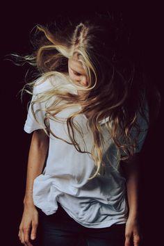 hair down, messy hair, style, lets dance, blonde highlights, long hair dos, lock, inspir, photographi