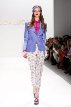 Luca Luca S/S 2012 Fashion Show Review