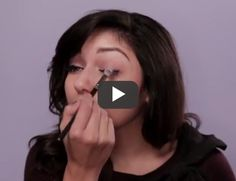 how to get fuller, longer lashes // click pin to watch video tutorial