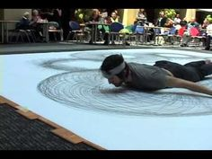 Tony Orrico Performance perform art, performance art, artist video, toni orrico