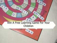 Limited opportunity to win a free learning game for your children.  $0.00 http://educatorssite.com/?p=1258