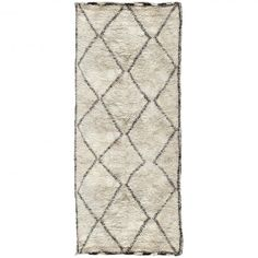 {beni ourain large diamond pattern rug}