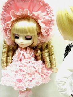 pink bonnet cuteness #dolls