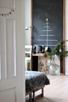 Blackboard Christmas