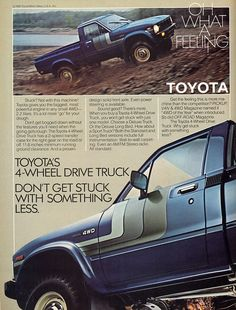 Toyota truck ad - Oh What a Feeling!