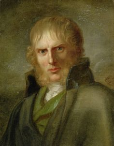 "Caspar David Friedrich - 1774 - 1840 - German painter of ""The Wanderer"" -- self portrait"