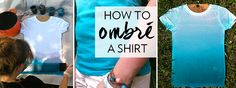 How To Make an Ombré Shirt