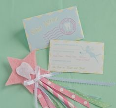 Adorable tooth fairy printables