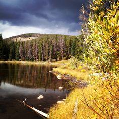 Outside of Laramie, Wyoming!