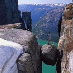 Between a rock and a high place?