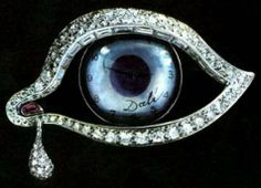 """brooch called """"The Eye of Time""""."""